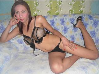 sexy transe live vor der webcam